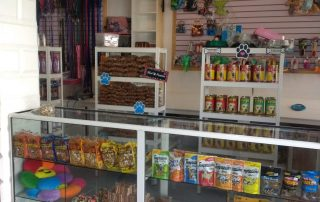 retail store and pet supplies at pawsome pets guyana