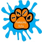 Pawsome Pets Guyana Logo