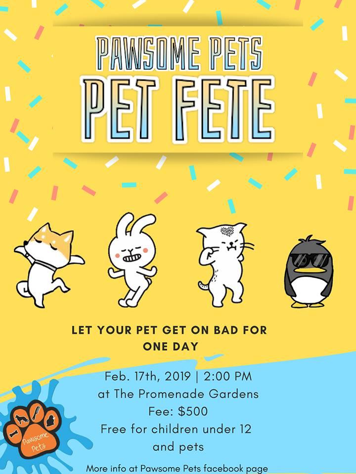 Pawsome Pets Pet Fete - 2019